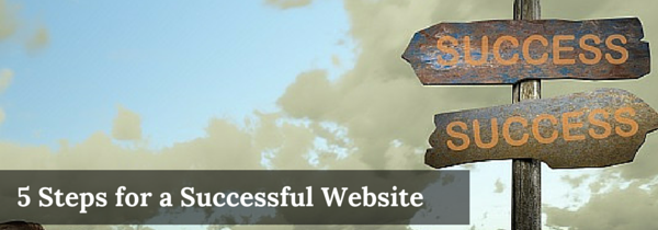 5 steps to successful website